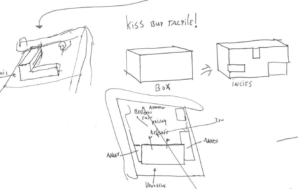 concept schets woning Hof van Reimerswaal kavel 1