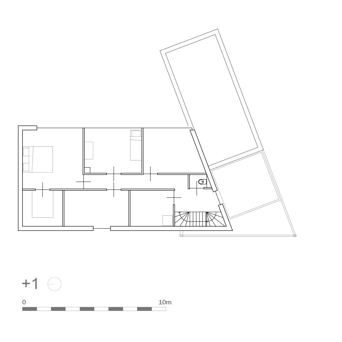 plattegrond verdieping hof van reimerswaal 1