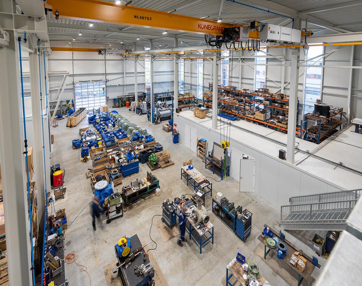 Nieuwbouw bedrijfspand EPS